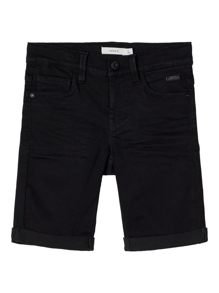 Name It Nkmsofus Dnmclas 7227 Long Shorts Noos Black Denim
