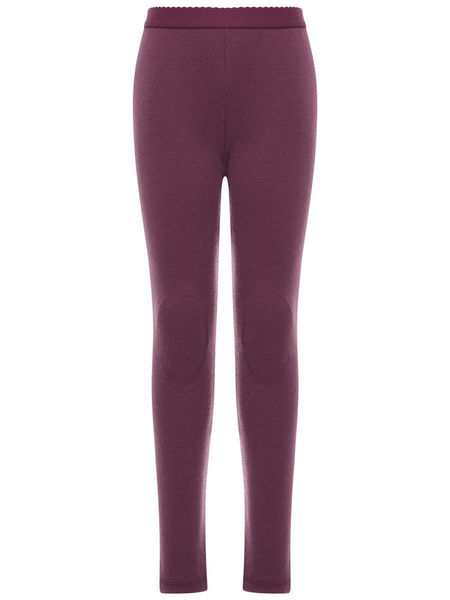 Name It Nitwillitobu Wool Legging Sol Noos Prune Purple