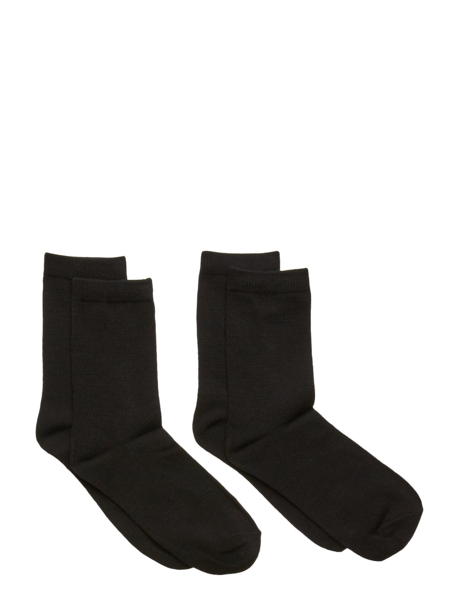 Name It Nkmwak Wool 2 Pack Sock Xix Black