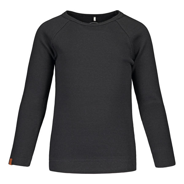 Metsola SS20 Rib Basic T-Shirt Black