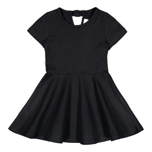Gugguu SS20 Wow T-Shirt Dress Black