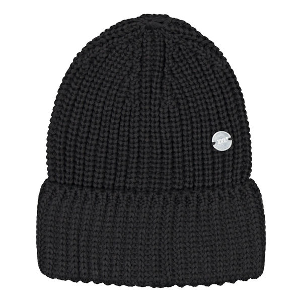 Metsola SS20 Cotton Knitted Jumbo Beanie Black