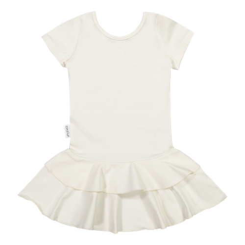 Gugguu SS20 Frilla T-Shirt Dress White Candy