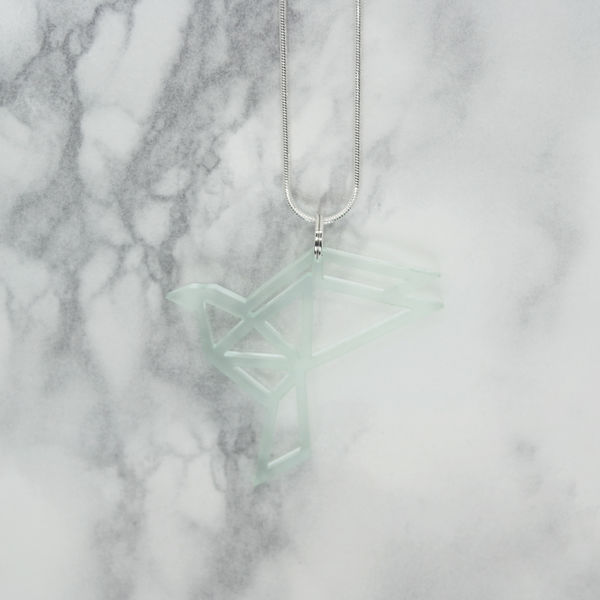 Yo Zen Dove Mini Pendant Mint