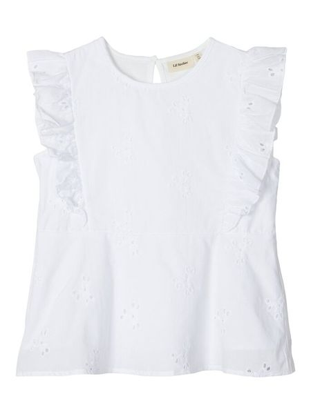 Lil`Atelier Gana SL Top Bright White