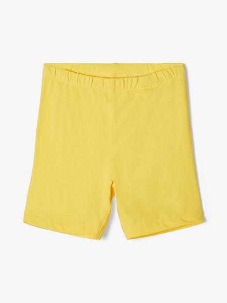 Name It Nmffamille Biker Shorts Aspen Gold