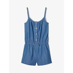 Name It Nkfbaya Ss Dnm 2327 Playsuit Medium Blue Denim