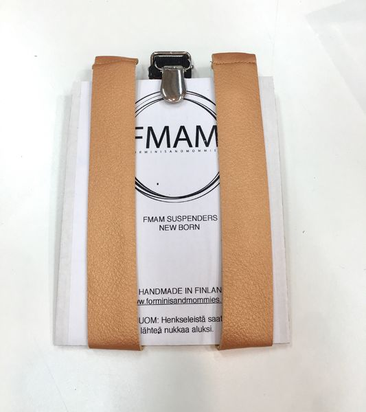 FMAM Suspenders Rose Gold