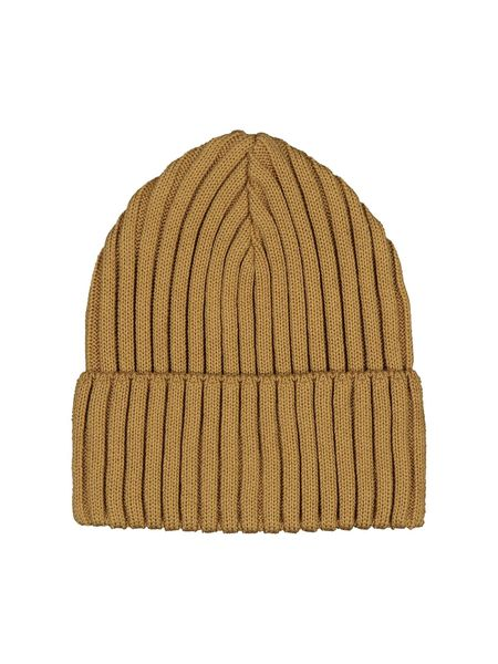 Mainio Rib Beanie Puuvillapipo, Brown Sugar