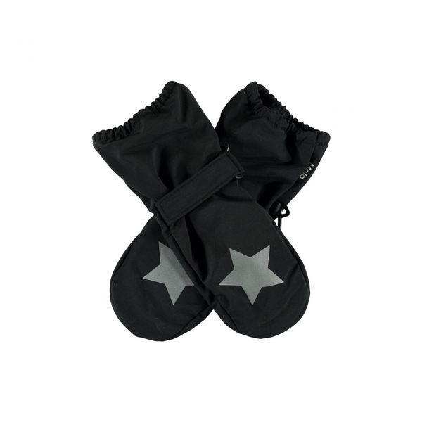Molo Kids SS20 Igor Summer Mittens Black