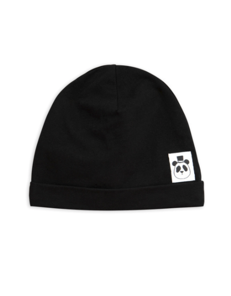 Mini Rodini Basic Beanie Black