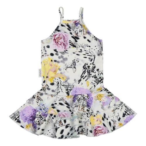 Gugguu SS20 Print Spaget Dress Dots & Spots