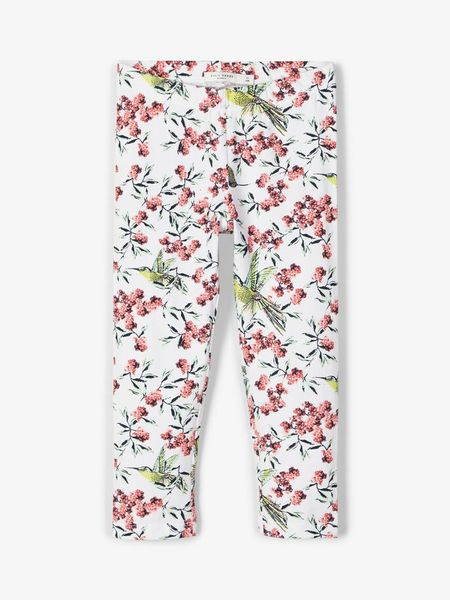 Name It Nkfvivian Aop Capri Legging Bright White
