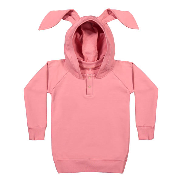 Metsola AW20 Bunny Hoodie Strawberry Ice