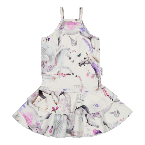 Gugguu SS20 Print Spaget Dress Summer Dream