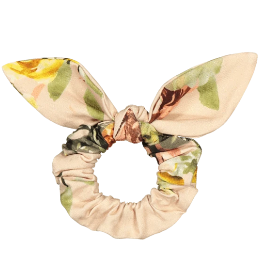 Kaiko SS20 Bow Scrunchie Copper Rose Yard