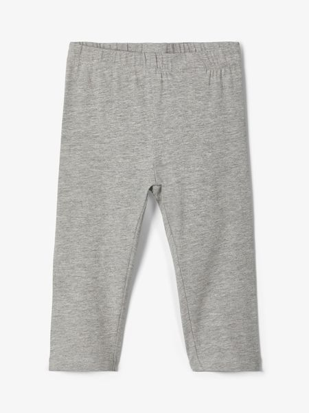 Name It Nmfvivian Solid Capri Legging Grey Melange