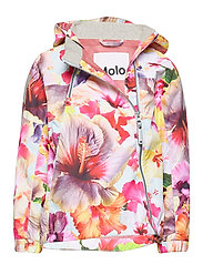 Molo Kids SS20 Hopla Jacket Hibiscus Dream