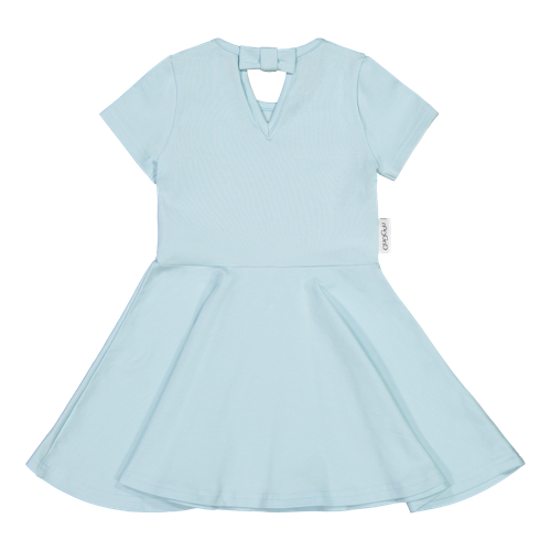 Gugguu SS20 Wow T-shirt Dress Blue Bell