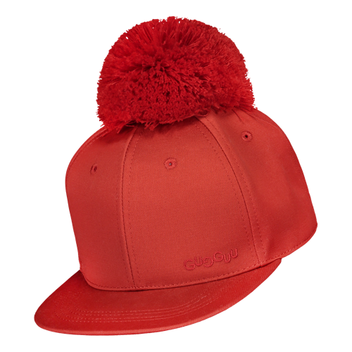 Gugguu SS20 One Tuft Cap Spicy Red