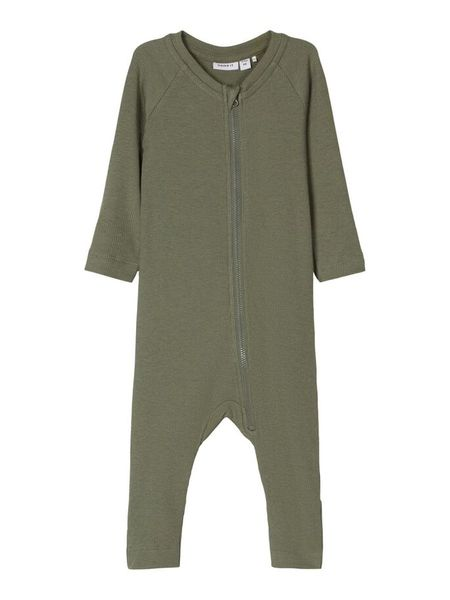 Name It Rib Jumpsuit, Agave Green