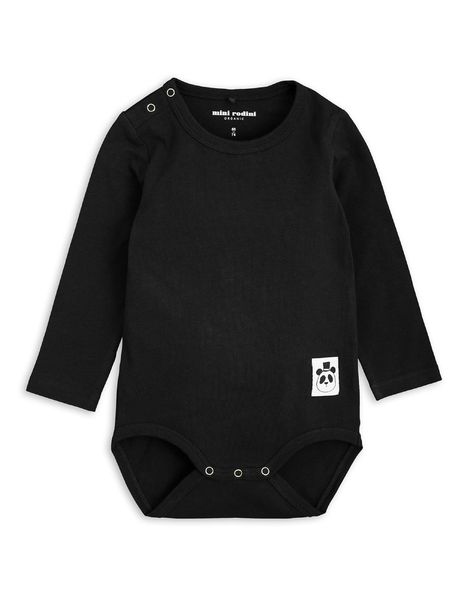 Mini Rodini Basic LS Body Black