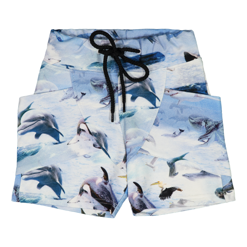 Gugguu SS20 Print College Shorts Sea Life