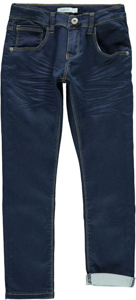 Name It Nkmrobin Dmnthayer Swe Pant Noos Dark Blue Denim