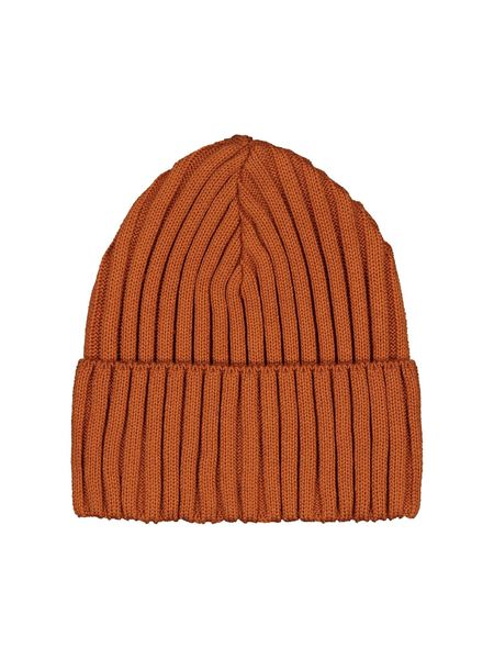 Mainio Rib Beanie Puuvillapipo, Rusty Red