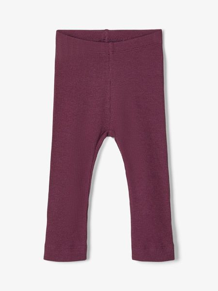 Name It Rib Legginsit, Italian Plum