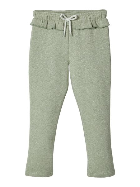 Lil' Atelier Goldie Sweat Pant Iceberg Green