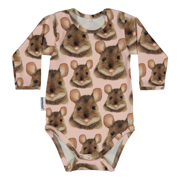Metsola Body, Mouse Pink