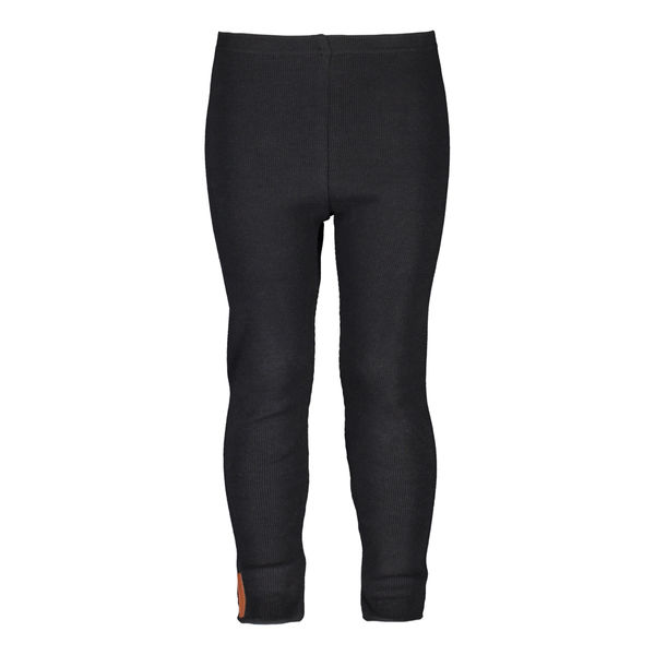 Metsola Rib Leggings, Black