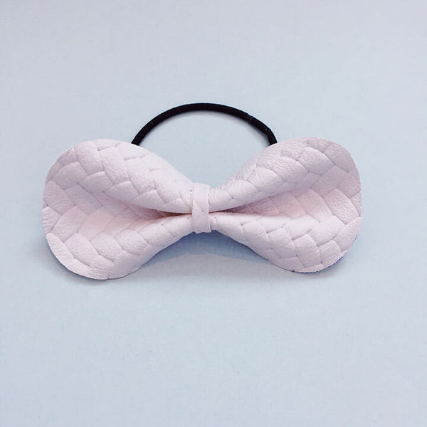 FMAM Mice Mice Hairband Braids Pale Rose