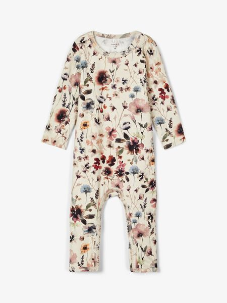 Name It Kukkakuosinen Jumpsuit, Peyote Melange