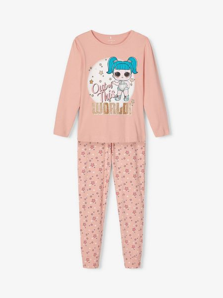 Name It L.O.L.-nukkeprinttinen Pyjama, Mellow Rose