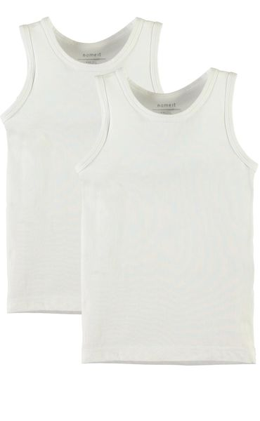 Name It Nmftank Top 2P Solid White