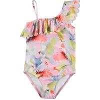 Molo Kids SS20 Net Cockatoos Swimsuit