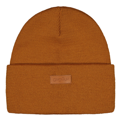 Gugguu Basic Beanie Merinovillapipo Brown Sugar