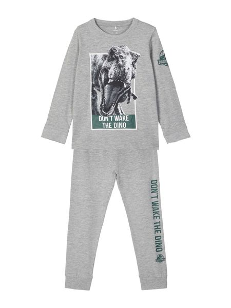 Name It Dinosaurus Pyjama, Grey Melange