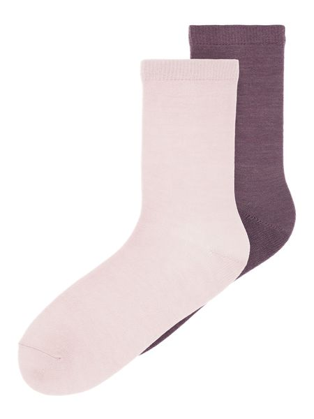 Name It Nkfwak Wool 2 Pack Sock Xix Burnished Lilac