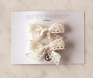 Gipsy Parrot Pinnit 2 Kpl, Rustic Lace
