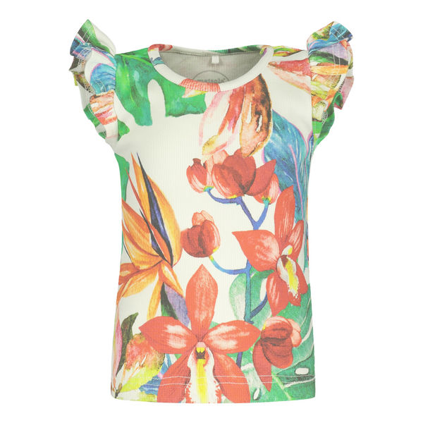 Metsola SS20 Tropic Frilla T-Shirt SS Tricot