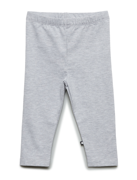 Molo Kids SS20 Nette Solid Leggings Light Grey Melange