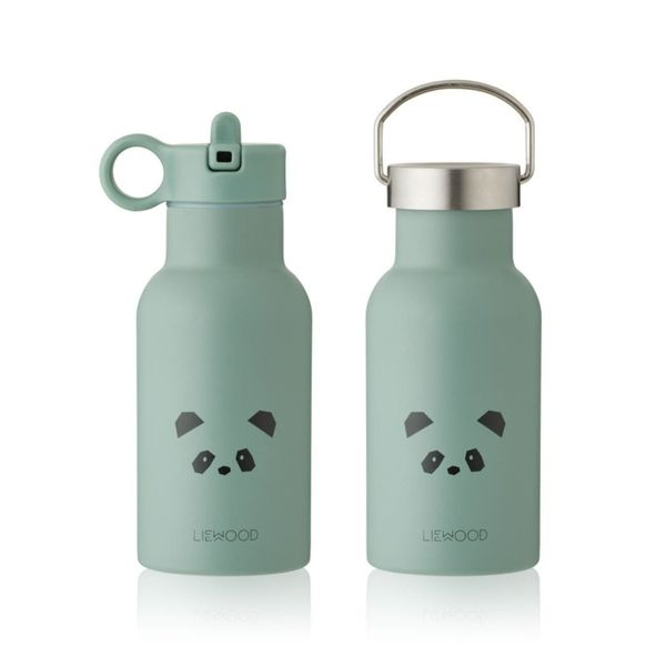 Liewood Anker Water Bottle Panda Dusty Mint
