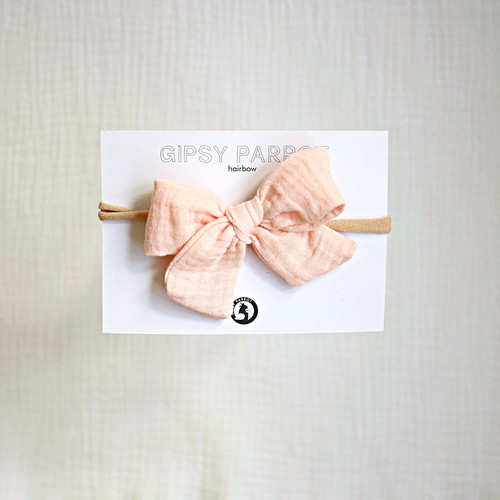 Gipsy Parrot Muslin Collection Light Apricot