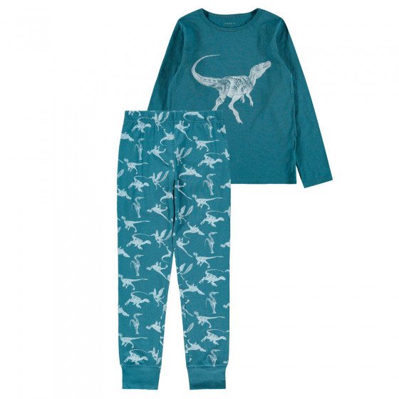 Name It Poikien Pyjamasetti, Dino Real Teal