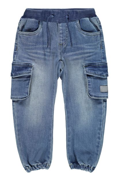 Name It Nmmbob Dnmtanni 1313 Pant Noos Light Blue Denim