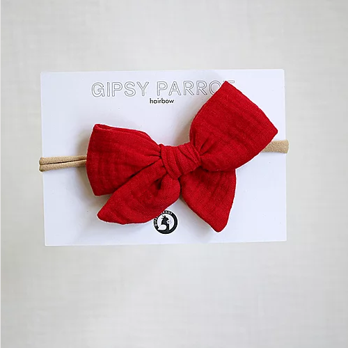 Gipsy Parrot Muslin Rusettipanta, Tango Red