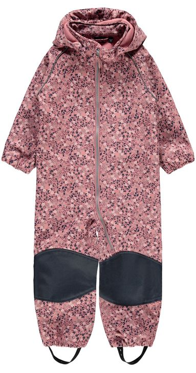 Name It Nmfalfa Suit Small Flower Dusty Rose